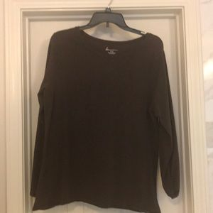 Lane Bryant long sleeve t-shirt in size 14W/16W